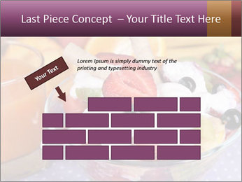 Fresh fruits PowerPoint Template - Slide 46