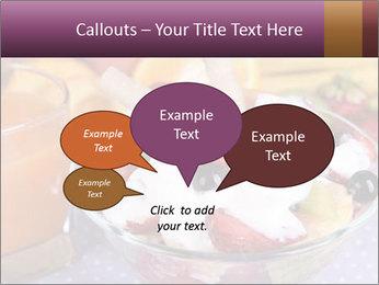 Fresh fruits PowerPoint Template - Slide 73
