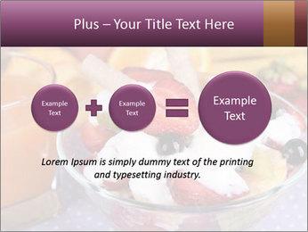 Fresh fruits PowerPoint Template - Slide 75