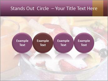 Fresh fruits PowerPoint Template - Slide 76