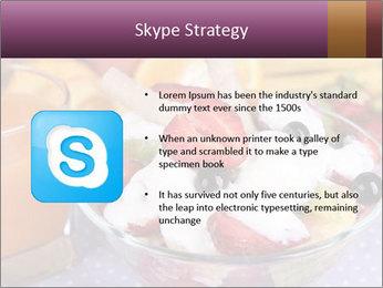 Fresh fruits PowerPoint Template - Slide 8