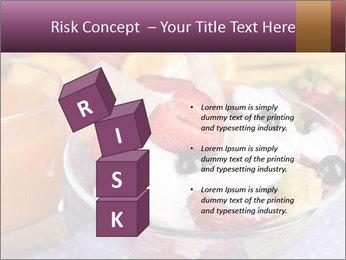 Fresh fruits PowerPoint Template - Slide 81