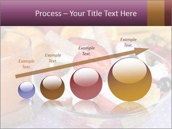Fresh fruits PowerPoint Template - Slide 87