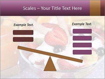 Fresh fruits PowerPoint Template - Slide 89