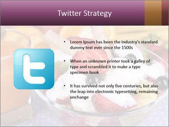 Fresh fruits PowerPoint Template - Slide 9