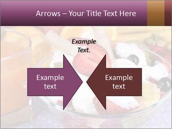 Fresh fruits PowerPoint Template - Slide 90