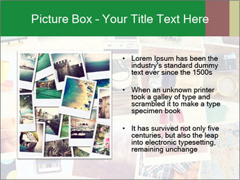 Mosaic with pictures PowerPoint Template - Slide 13