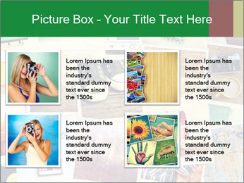 Mosaic with pictures PowerPoint Template - Slide 14