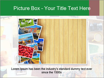 Mosaic with pictures PowerPoint Template - Slide 15