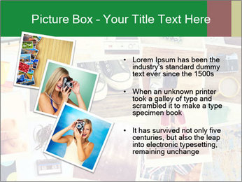 Mosaic with pictures PowerPoint Template - Slide 17