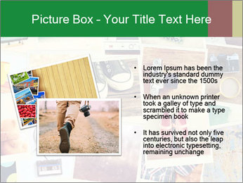 Mosaic with pictures PowerPoint Template - Slide 20