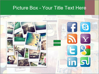 Mosaic with pictures PowerPoint Template - Slide 21