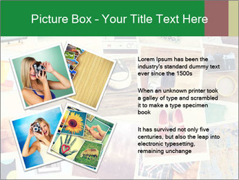 Mosaic with pictures PowerPoint Template - Slide 23