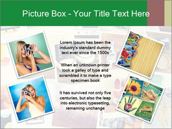 Mosaic with pictures PowerPoint Template - Slide 24