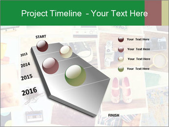 Mosaic with pictures PowerPoint Template - Slide 26