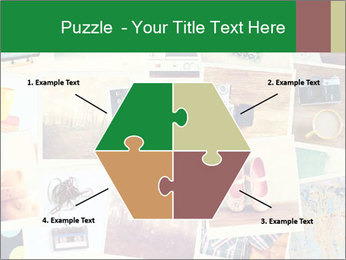 Mosaic with pictures PowerPoint Template - Slide 40