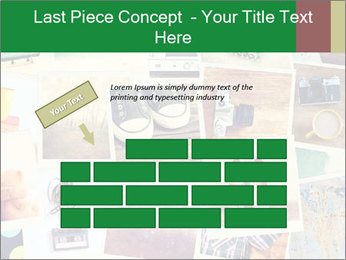 Mosaic with pictures PowerPoint Template - Slide 46