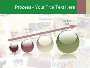 Mosaic with pictures PowerPoint Template - Slide 87
