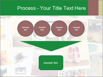 Mosaic with pictures PowerPoint Template - Slide 93