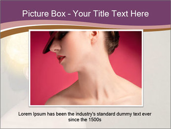 Young girl thinking PowerPoint Template - Slide 16