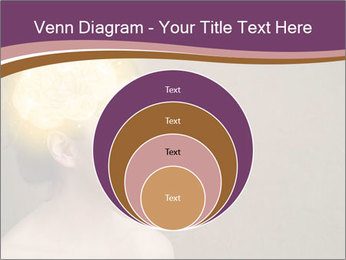 Young girl thinking PowerPoint Template - Slide 34