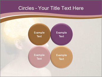 Young girl thinking PowerPoint Template - Slide 38