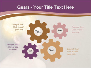 Young girl thinking PowerPoint Template - Slide 47
