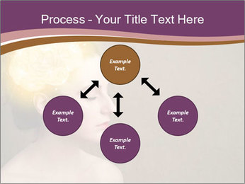 Young girl thinking PowerPoint Template - Slide 91