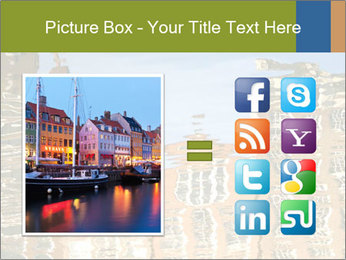 River reflections PowerPoint Template - Slide 21