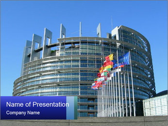 The European Parliament PowerPoint Templates - Slide 1