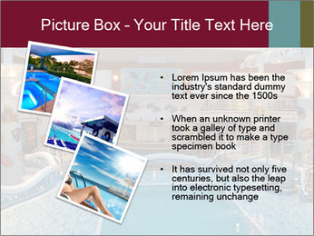 Indoor swimming pool PowerPoint Templates - Slide 17