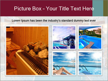 Indoor swimming pool PowerPoint Templates - Slide 19