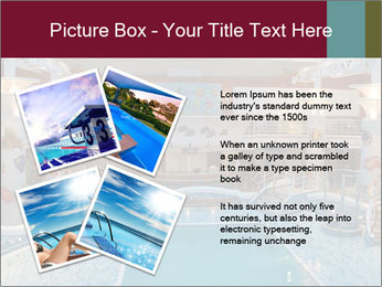 Indoor swimming pool PowerPoint Templates - Slide 23
