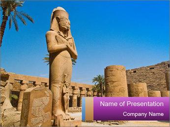 Egypt PowerPoint Template - Slide 1