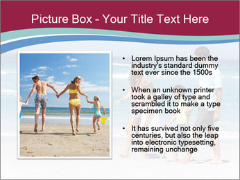 Family Walking PowerPoint Template - Slide 13