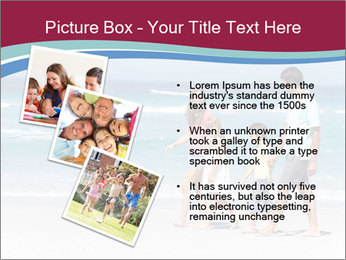 Family Walking PowerPoint Template - Slide 17