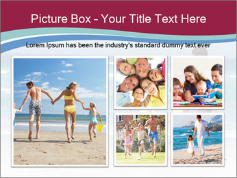 Family Walking PowerPoint Template - Slide 19