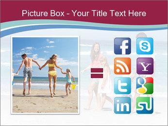 Family Walking PowerPoint Template - Slide 21