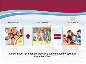 Family Walking PowerPoint Template - Slide 22
