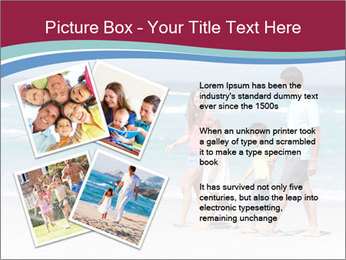 Family Walking PowerPoint Template - Slide 23
