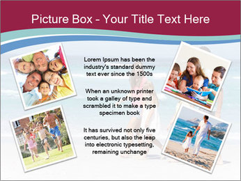 Family Walking PowerPoint Template - Slide 24