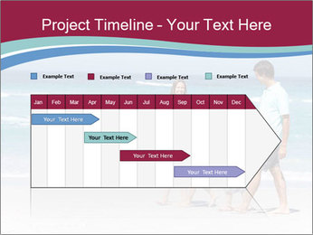 Family Walking PowerPoint Template - Slide 25