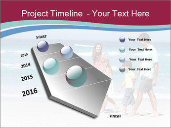 Family Walking PowerPoint Template - Slide 26