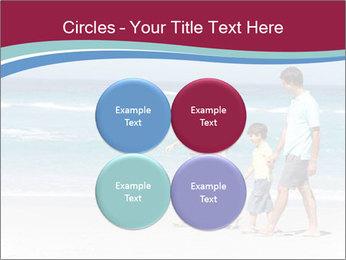 Family Walking PowerPoint Template - Slide 38