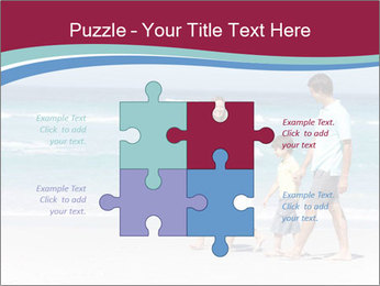 Family Walking PowerPoint Template - Slide 43