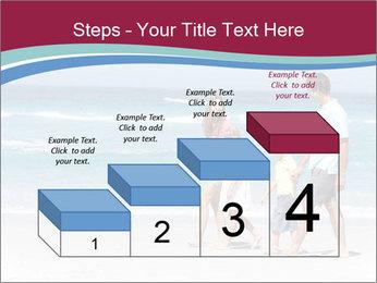 Family Walking PowerPoint Template - Slide 64