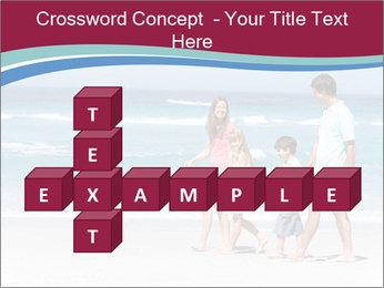 Family Walking PowerPoint Template - Slide 82