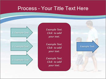 Family Walking PowerPoint Template - Slide 85