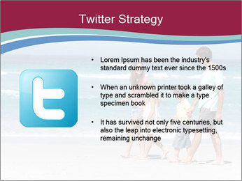 Family Walking PowerPoint Template - Slide 9