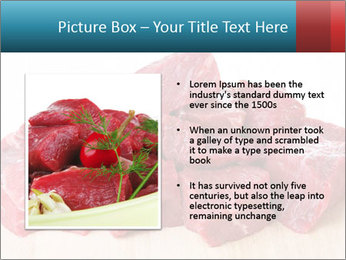 Raw beef PowerPoint Templates - Slide 13